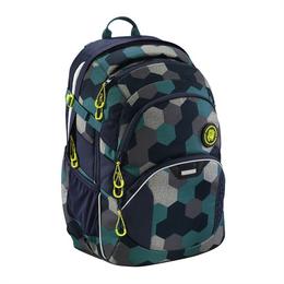 Školní batoh Coocazoo JobJobber2, Blue Geometric Melange