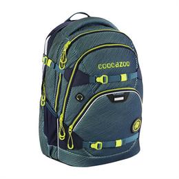 Školní batoh Coocazoo ScaleRale, Freaka Sneaka Chameleon Blue, certifikát AGR