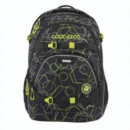 Školní batoh coocazoo ScaleRale, Laserbeam Black, certifikát AGR
