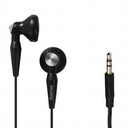 Hama sluchátka Basic4Music, pecky, èerná - zvìtšit obrázek
