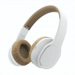 Hama Bluetooth sluchátka Touch, uzavøená, dotyková, bílá