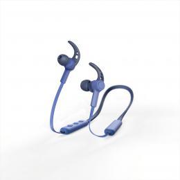 Hama Bluetooth špuntová sluchátka Connect Neck, modrá - zvìtšit obrázek