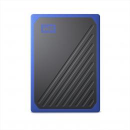My Passport Go SSD, USB 3.0, 500 GB èerná/modrá