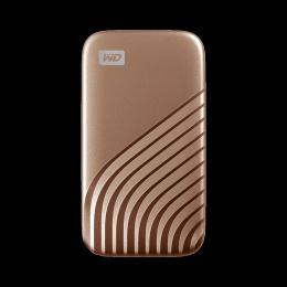 WD My Passport SSD 2TB Gold