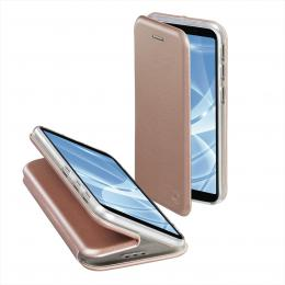 Hama Curve Booklet for Samsung Galaxy A7 (2018), rose gold