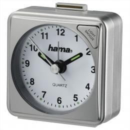 Hama A50 cestovní budík, støíbrný - zvìtšit obrázek