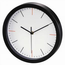 Hama MaxR, nástìnné hodiny, prùmìr 25 cm, tichý chod, bílé