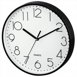 Hama PG-220, nástìnné hodiny, tichý chod, èerné - zvìtšit obrázek