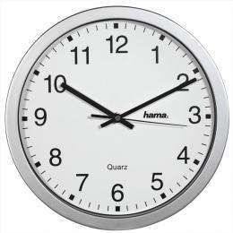 Hama CWA100, nástìnné hodiny, støíbrné - zvìtšit obrázek