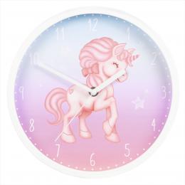 Hama Magical Unicorn, dìtské nástìnné hodiny, prùmìr 25 cm, tichý chod