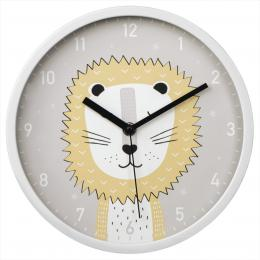 Hama Lucky Lion, dìtské nástìnné hodiny, prùmìr 25 cm, tichý chod