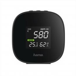 Hama Safe, pøístroj pro mìøení kvality vzduchu (CO2, teploty a vlhkosti vzduchu)