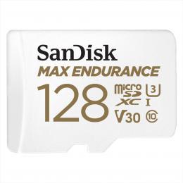 SanDisk MAX ENDURANCE microSDXC Card s adaptérem 128GB
