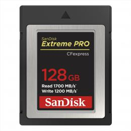SanDisk Extreme PRO CF expres 128 GB, Type B