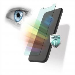 Hama Anti-Bluelight, sklo na displej pro Samsung Galaxy A70, s filtrací modrého svìtla z displeje