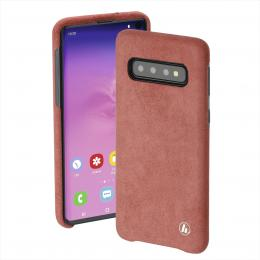 Hama Finest Touch, kryt pro Samsung Galaxy S10, korálový