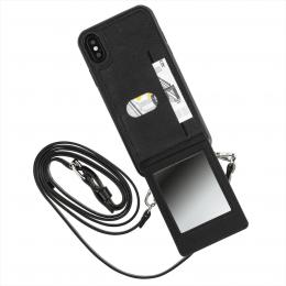 Hama Mirror, cross-body kryt s popruhem a zrcátkem, pro Apple iPhone X/Xs