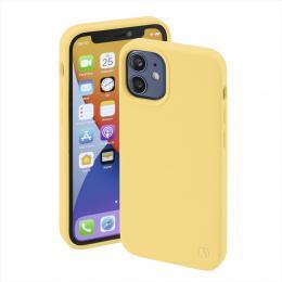 Hama MagCase Finest Feel PRO, kryt pro Apple iPhone 12 mini, žlutý