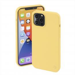 Hama MagCase Finest Feel PRO, kryt pro Apple iPhone 12 Pro Max, žlutý