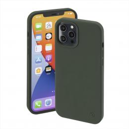 Hama MagCase Finest Feel PRO, kryt pro Apple iPhone 12 Pro Max, zelený