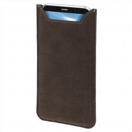 Hama Soft Fleece, pouzdro na mobil, velikost XL, hnìdé