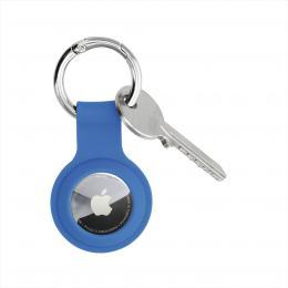 Hama Finest Feel, ochrana pro Apple AirTag, silikonová, modrá