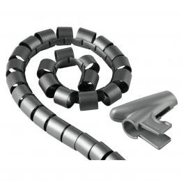 Hama trubice pro vedení kabelù, 1,5 m, 30 mm, støíbrná
