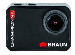 Detail produktu - Braun outdoorová videokamera Champion 4K, WiFi, s vodotěsným pouzdrem