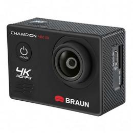 Braun outdoorová videokamera Champion 4K III, WiFi, vodotìsné pouzdro