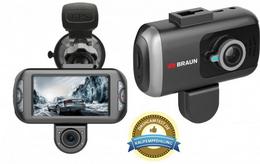 Braun B-Box T7 kamera do auta, duální (pøední/zadní), GPS