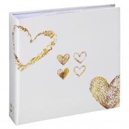Detail produktu - Hama album memo LAZISE 10x15/200, zlatá, popisové pole