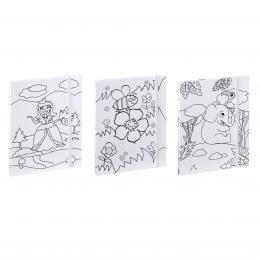 Hama album leporelo COLORARE 10x15/12, set 3 ks, pro holèièky
