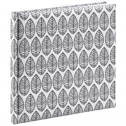 Hama kniha hostù LA FLEUR 25x23,5 cm, 176 stran, bílá