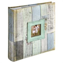 Hama album memo COTTAGE 10x15/200, modrá, popisové pole