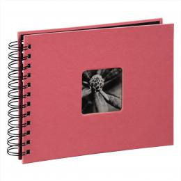 Hama album klasické spirálové FINE ART 24x17 cm, 50 stran, flamingo