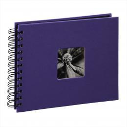 Hama album klasické spirálové FINE ART 24x17 cm, 50 stran, ultrafialová