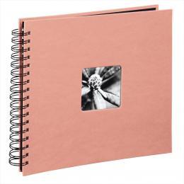 Hama album klasické spirálové FINE ART 28x24 cm, 50 stran, korálová