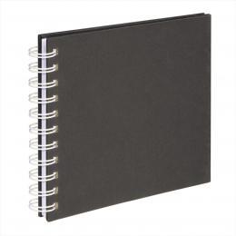 Hama album klasické spirálové FINE ART 18,5x15 cm, 30 stran, èerná, bílé listy