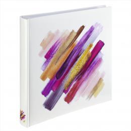 Hama album klasické BRUSHSTROKE 30x30 cm, 80 stran, èervená - zvìtšit obrázek