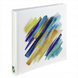 Hama album klasické BRUSHSTROKE 30x30 cm, 80 stran, modrá