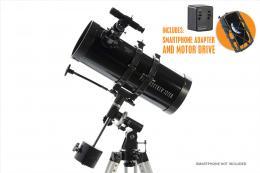 Celestron PowerSeeker 127/1000mm EQ teleskop zrcadlový motorizovaný (22039)