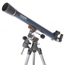 Dalekohledy a mikroskopy Teleskopy Èoèkové (refraktory) Ekvatoriální montáž (EQ)