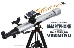 Znaèky Celestron Teleskopy Èoèkové (refraktory) Azimutální montáž (AZ)