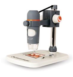 Detail produktu - Celestron ruční digitální mikroskop PRO se základnou (44308)
