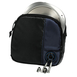 Detail produktu - Hama CD Player Bag for Player and 3 CDs, black/blue