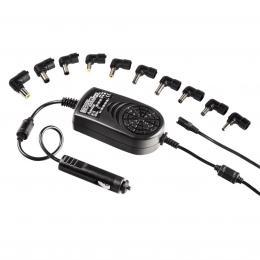 Hama univerzální napájecí zdroj pro notebook do auta, 15-24 V, 120 W