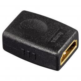 Hama HDMI spojka zásuvka-zásuvka, pozlacená