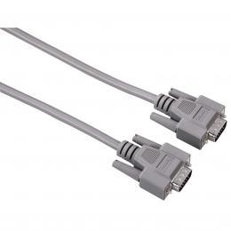 Detail produktu - Hama VGA propojovací kabel, 15pin., 1.8m, šedý