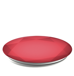 PopSockets Original PopGrip, Red Metallic Diamond, hliníkový
