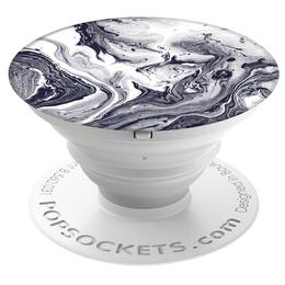 PopSockets Original PopGrip, Black White Marble - zvìtšit obrázek